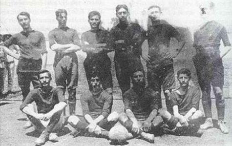 Η ομάδα του Παναθηναϊκού το 1908