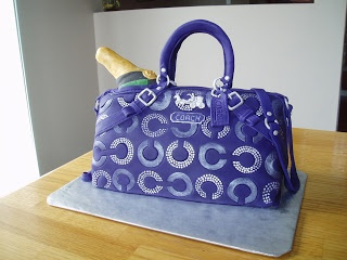 Sarah's Custom Cakes - Barrie & Innisfil: Coach Handbag Cake