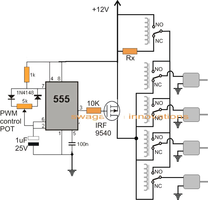 circuit diagram video camera