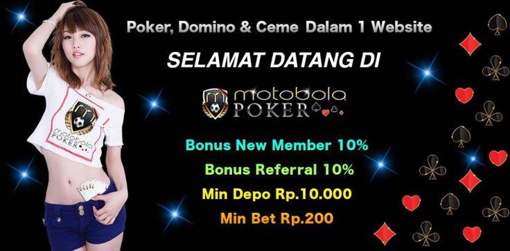 Motobolapoker akan memberikan Tips Bermain Poker Online Terpercaya Untuk Para Pemula agar dapat menikmati permainan poker online dengan nyaman