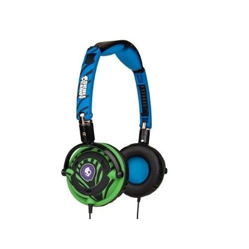 Skullcandy Lowrider w/ Mic Headphones Electric Animal