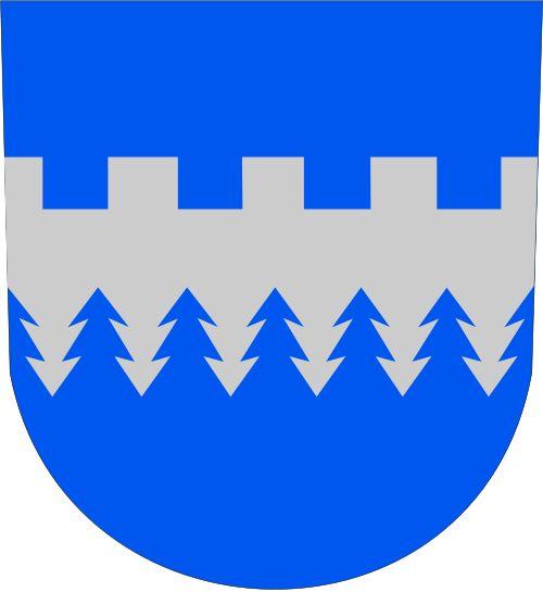 Kajaanin mlk.vaakuna.svg Liitetty Kajaaniin vuonna 1977