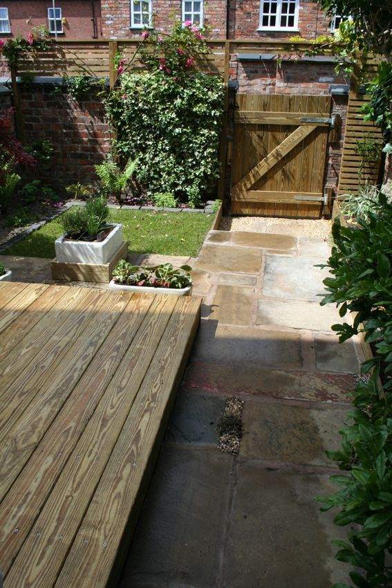 decking and pavers