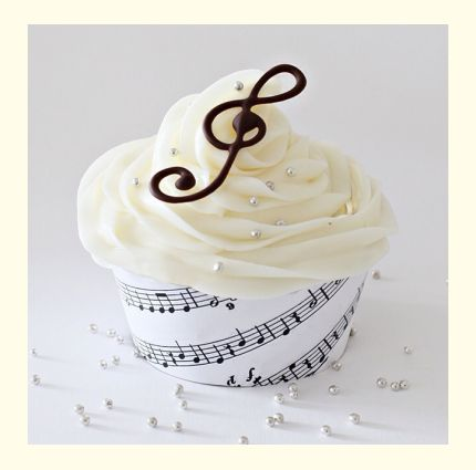 More shameless self promotion! I'm competing in a weekly cupcake contest, Miss Cupcake 2014. This week's theme is music. If you'd like you can vote for my cupcake by clicking on the image and then clicking the heart under my name. Thank you!