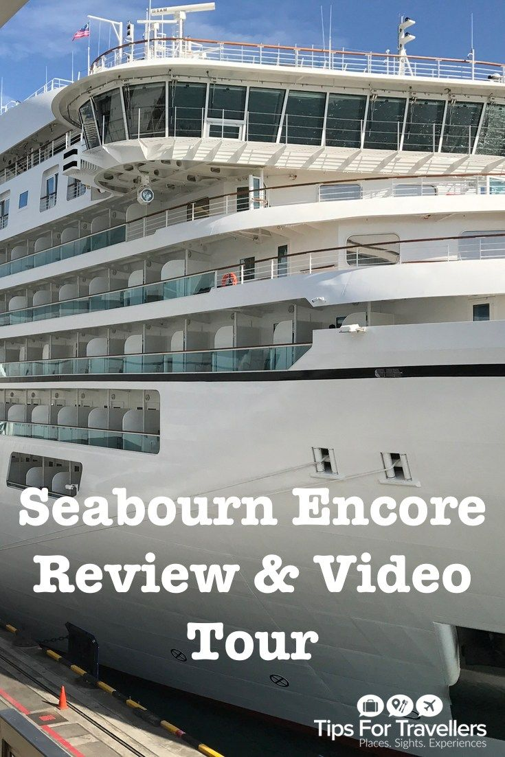 Seabourn encore review and ship video tour cruise expert gary bembridge reviews seabourn cruises seabourn