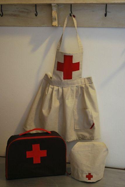 Déguisement infirmière rétro