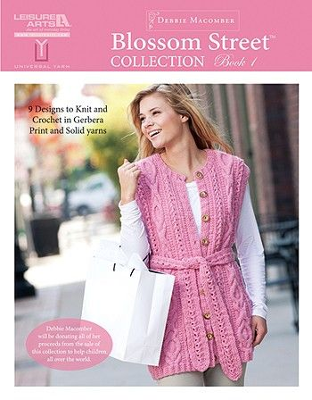 Leisure Arts - Blossom Street Collection, Book 1, $7.95 (http://www.leisurearts.com/products/blossom-street-collection-book-1.html)