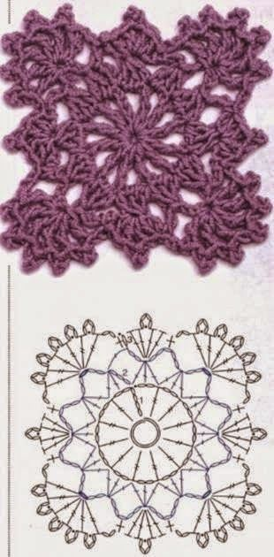 Crochet Patterns to Try: Crochet Free Form Patchwork Inspired Free People Fall Pullover - Charts and Instructions