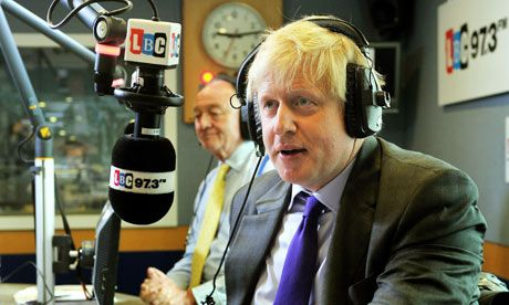 Boris Johnson in foul-mouthed rant at Ken Livingstone over tax claims