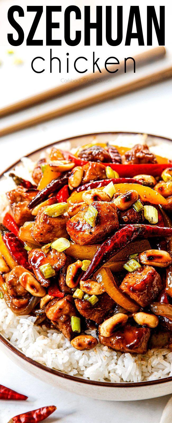 Szechuan Chicken Szechuan Chicken Best Chicken Recipes Asian Recipes