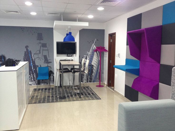 New office for Royal Ahrend in Dubai  #ArchiJuice #OfficeDesign