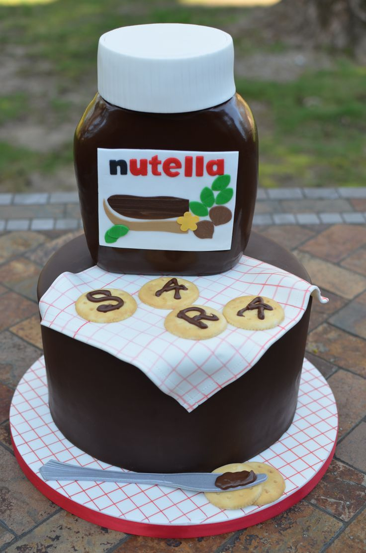 Jar Of Nutella Birthday Cake But A Dream Custom Cakes
