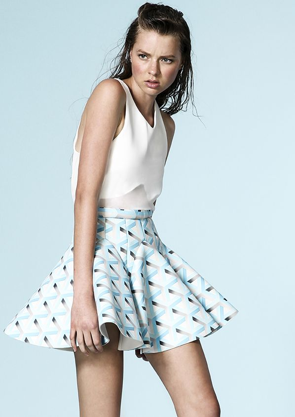 That Cameo Skirt!!! from their Oceanic Collection