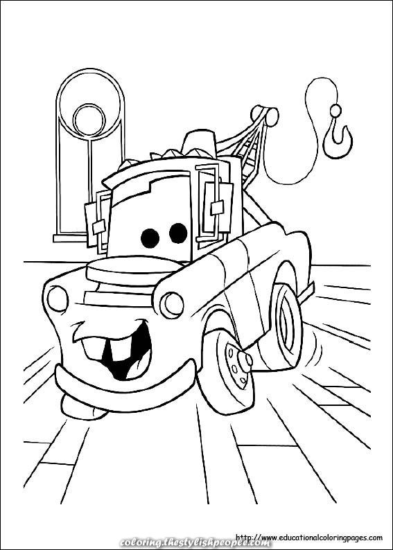 Cars Online Coloring Pages   794x567