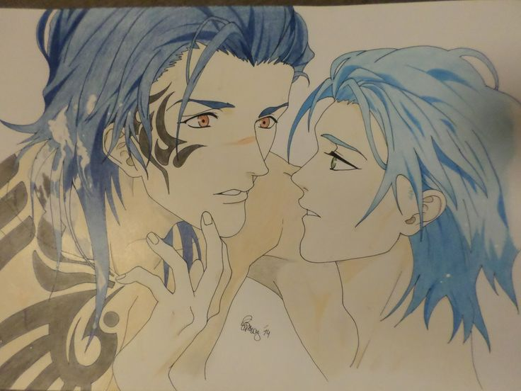 Koujaku and Aoba Seragaki - DRAMAtical Murder re:connect