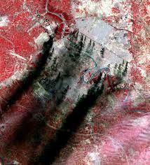 aster satellite - Baghdad