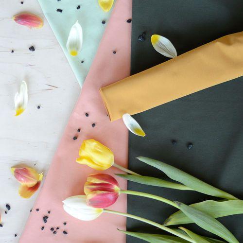 Jersey, Olive  | NOSH Fabrics Spring & Summer 2016 Collection - Shop at en.nosh.fi | Kevään 2016 malliston kankaat saatavilla nyt nosh.fi