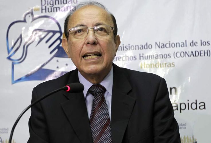 """Roberto Herrera Cáceres, comisionado nacional de los Derechos Humanos (Conadeh).  """"El diálogo nacional permitirá la unidad en Honduras"""""""
