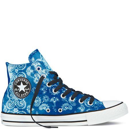 cf10bd403f7e I gotz! Chuck Taylor Bandana Print blue