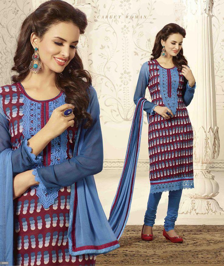 Designer Kameez Suit Bollywood Wedding Anarkali Indian Salwar Pakistani 1709…