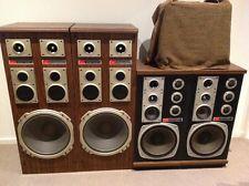 Rare vintage floor speakers 12 inch and 15 inch audiophile for 15 floor speakers