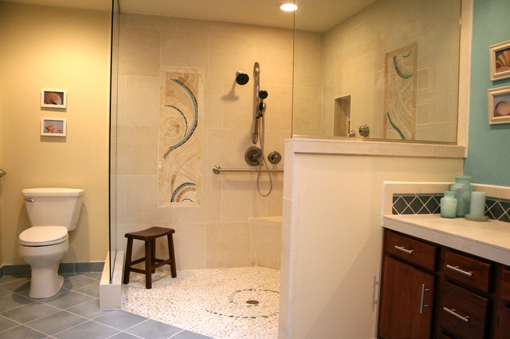 Aging In Place Bathroom Remodel By Hardline Design And Construction In Portland Oregon