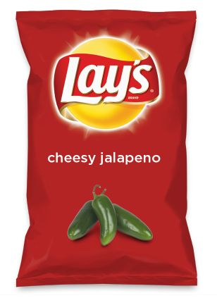 Wouldn't cheesy jalapeno be yummy as a chip? Lay's Do Us A Flavor is back, and the search is on for the yummiest flavor idea. Create a flavor, choose a chip and you could win $1 million! https://www.dousaflavor.com See Rules.