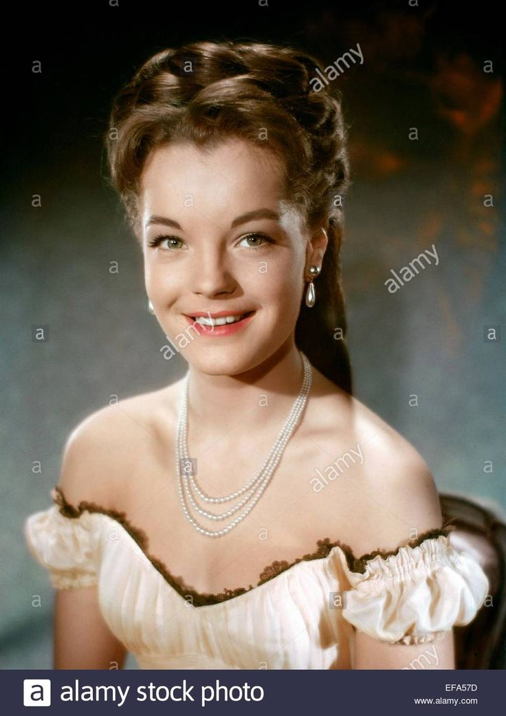 Download this stock image: ROMY SCHNEIDER SISSI: THE FATEFUL YEARS OF AN EMPRESS (1957) - EFA57D from Alamy's library of millions of high resolution stock photos, illustrations and vectors.