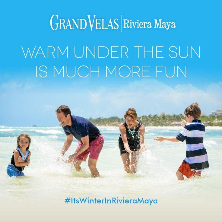 Узнайте, что такое зима в Гранд Велас Ривьера-Майя – роскошном олинклюзив-отеле на побережье Карибского моря Мексики!   Забронируйте сьют по телефону: 1-866-947-6004 http://rivieramaya.grandvelas.com/russian/