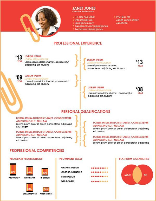 Top Resumes Templates Unique 45 Best Resumes Images On Pinterest  Free Resume Resume Templates .