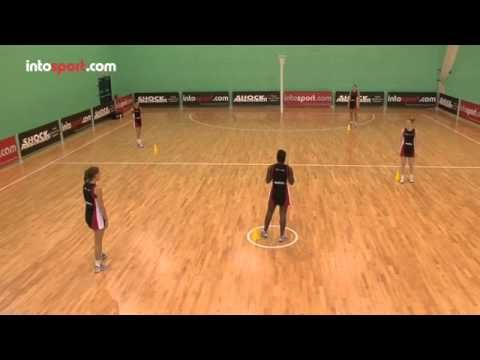 Netball Drills- Attacking Movement and Passing