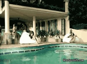 Share this Girl catapulted in the pool (epic prank) Animated GIF with everyone. Gif4Share is best source of Funny GIFs, Cats GIFs, Reactions GIFs to Share on social networks and chat.