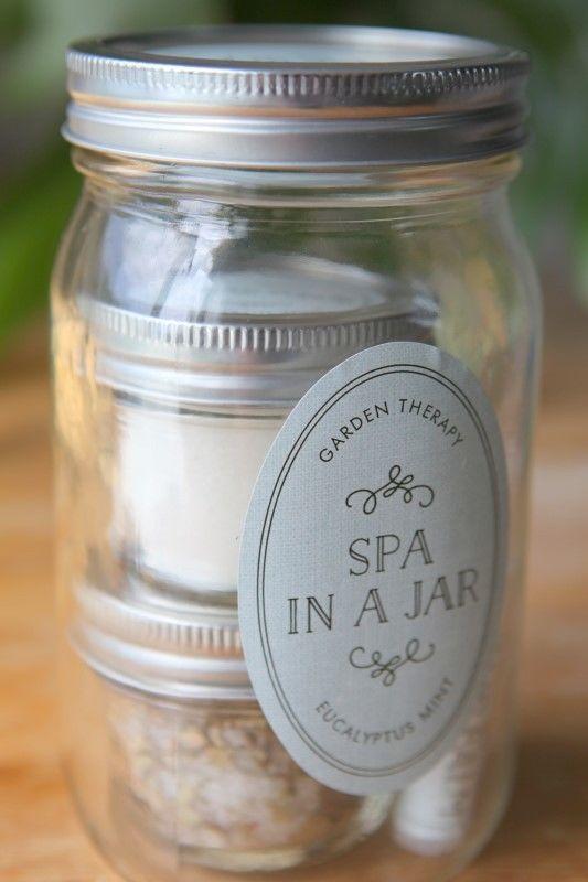 DIY Gift Idea: Spa-in-a-Jar | eBay