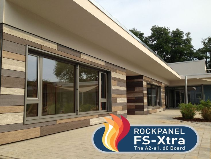 ROCKWOOL B.V. / ROCKPANEL Group - Product - ROCKPANEL FS-Xtra