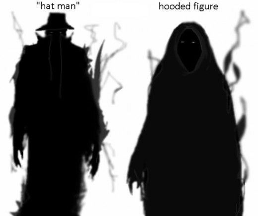 Way these are drawn reminds me of the wraiths