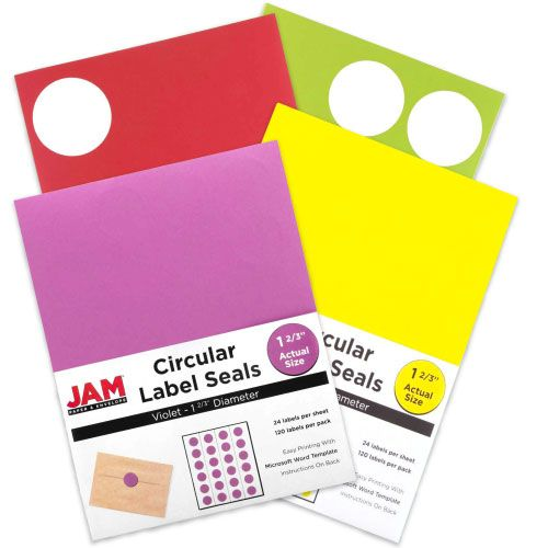 Circle Label Sticker Seals