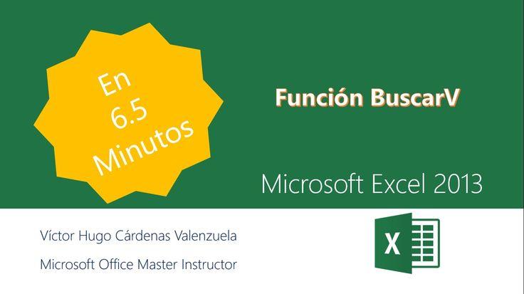 Función BuscarV en Microsoft Excel