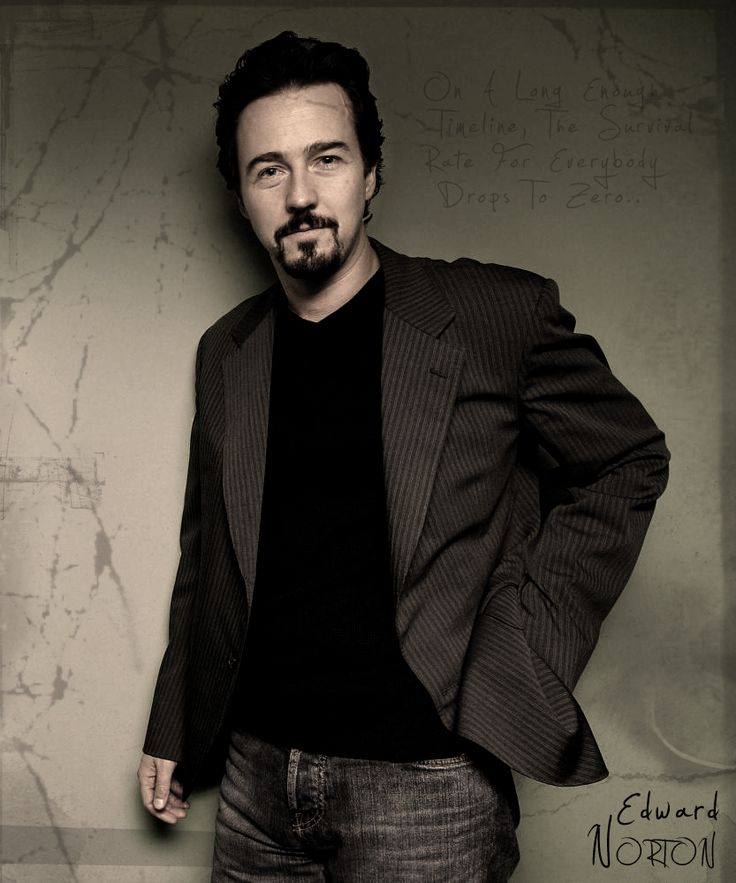 Edward Norton--The Illusionist, The Incredible Hulk, The Bourne Legacy---Great Actor, Attractive