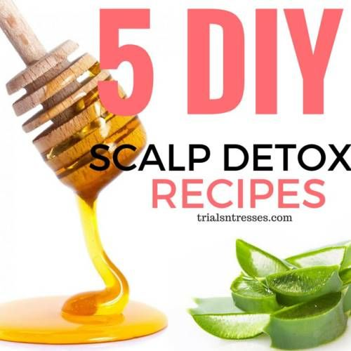 Detoxing your scalp is extremely important to maintaining a healthy hair regimen full of growth and retention. To detox you will need to exfoliate. Exfoliating your scalp helps to get rid of dead s...