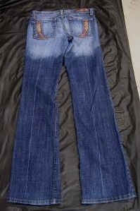 Juniors Flying Monkey Sz 5 Stretch Embellished Jeans - $27.95