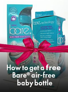 How to get a free Bare Air-free baby bottle | Bare Air-free Baby Bottle