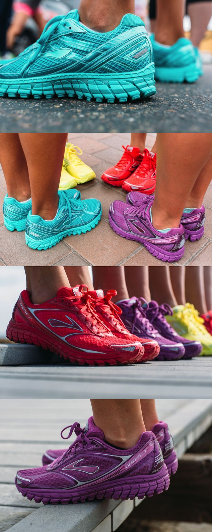 Express yourself in color! Get the brightest Brooks shoes at http://FinishLine.com.