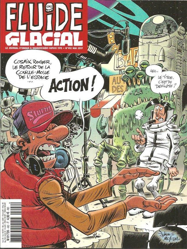Fluide Glacial n°492 Mai 2017