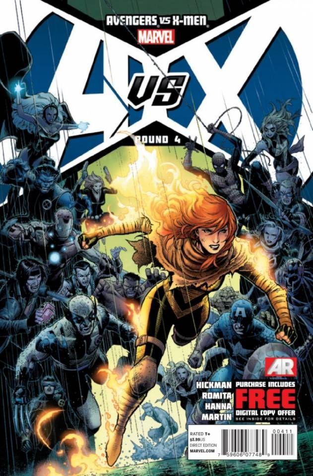 Avengers Vs X Men 4 Round 4 Issue Marvel Comic Books X Men Marvel Comics
