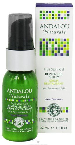 Andalou Naturals Fruit Stem Cell Revitalize Serum - 1.1 Oz, Pack of 2 by Andalou Naturals. $42.77. DOUBLE VALUE PACK! You are buying TWO of Revitalzng Serum, Stm Cell, 1.1 oz. #VALUE!. The product is not eligible for priority shipping. Save 14% Off!