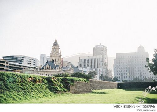 City hall seen from the Castle with amazing dreamy light in Cape Town during Kamersvol Geskenke Cape Town 2014 by Lovilee, via Flickr