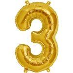 Nombre D'or 3 Ballon en Aluminium - 76 cm