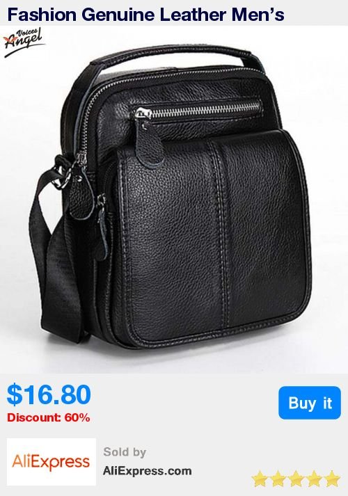Fashion Genuine Leather Men's Messenger Bags Man Portfolio Office Bag Quality Travel Shoulder Handbag for Man 2016 Dollar Price * Pub Date: 20:36 Jun 28 2017