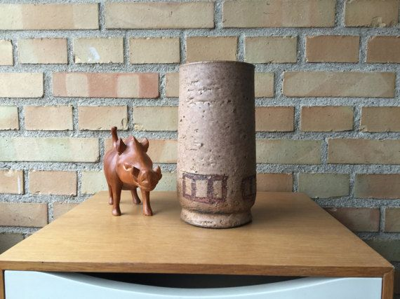 Vase from Danish studio pottery Sejer ceramics by QuirkySundays