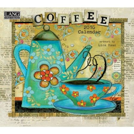 Coffee 2016 Wall Calendar